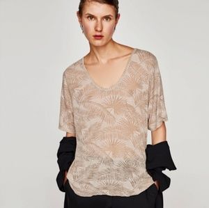 NWT Zara high low top. Size small.